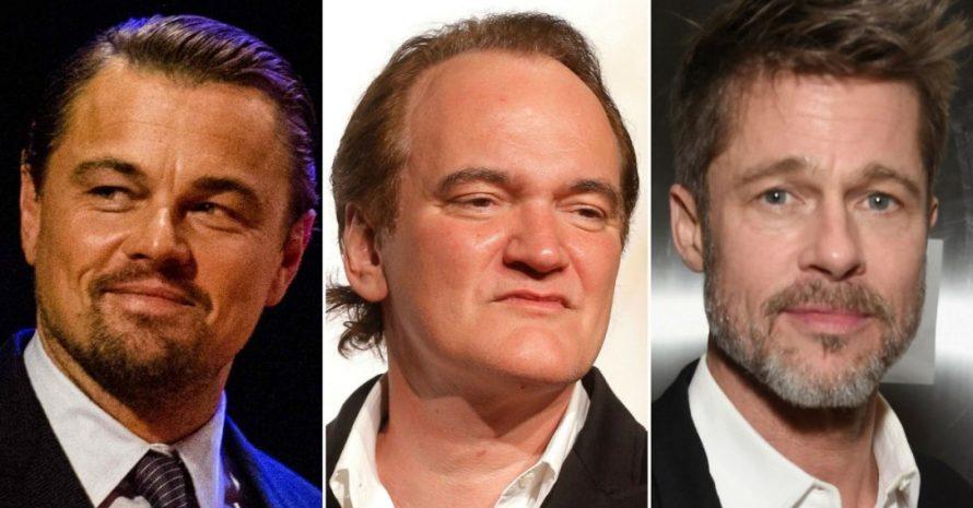 Tarantino se empolga com 'próximo Pulp Fiction', com DiCaprio e Brad Pitt