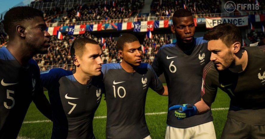 França vence a Copa do Mundo em simulação feita no jogo FIFA 18