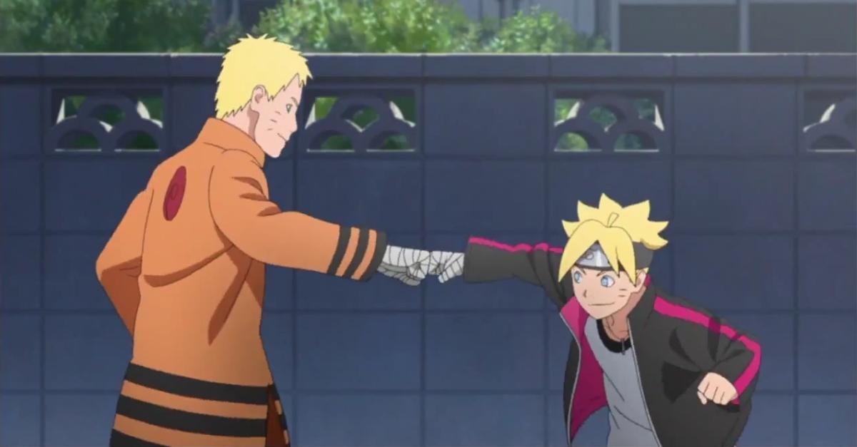 Novo arco de Boruto Anime contará com Boruto e jovem Naruto juntos