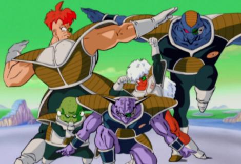 Dragon Ball: banda termina show com pose das Forças Especiais Ginyu