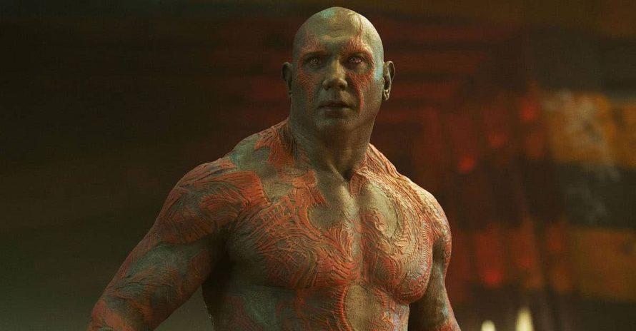 Dave Bautista improvisou piada de Drax em Vingadores: Guerra Infinita