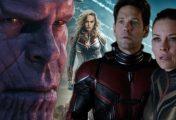 Como Homem-Formiga 2 e Capitã Marvel abordarão Guerra Infinita