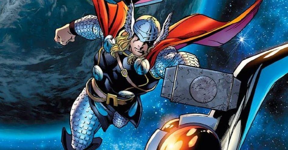 [Top 10] - MARVEL Comics - Parte 1 - Heróis,Vilões e Anti-Heróis Thor-voo-capa