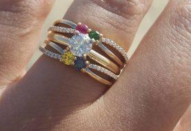 Mulher ganha anel de noivado inspirado em Harry Potter