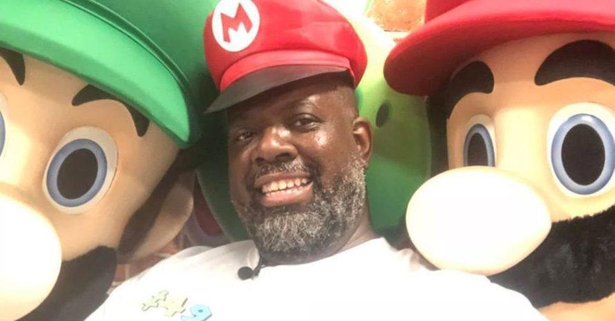 Cantor Péricles ganha festa de aniversário com tema de Super Mario Bros.