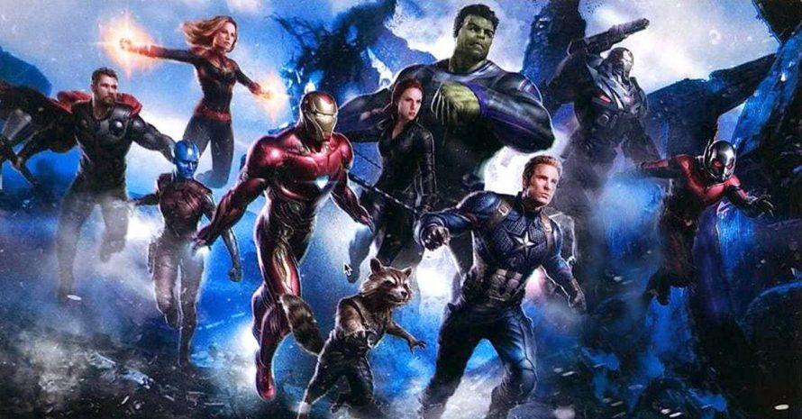 Artes de Vingadores 4 detalham uniforme de Hulk, Capitã Marvel e outros