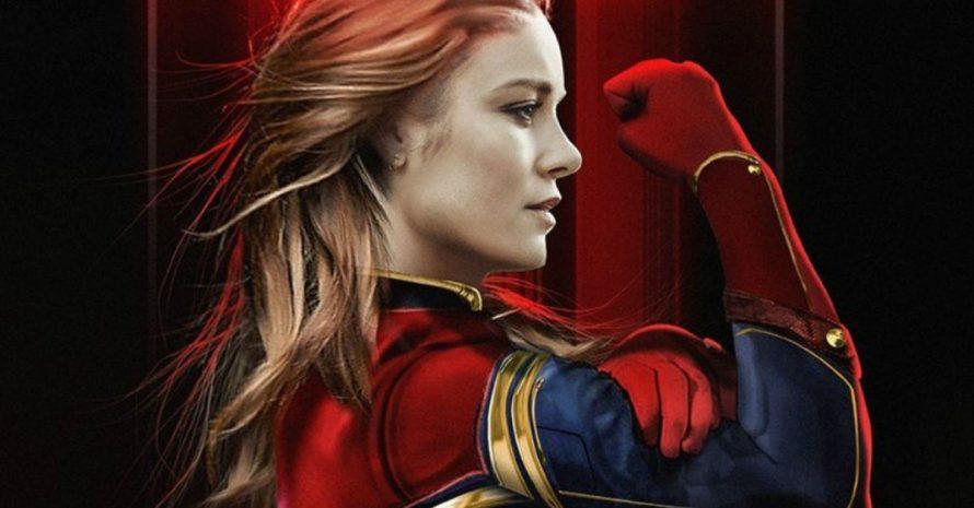 Brie Larson posta foto indicando final das gravações de Capitã Marvel