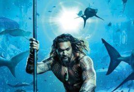 Primeiro pôster oficial do filme de Aquaman é divulgado; veja