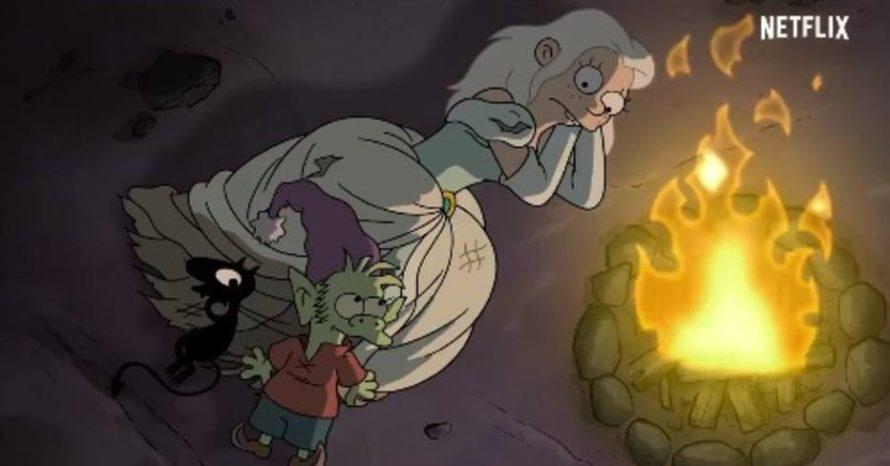 Nova série do criador de Simpsons, (Des)encanto ganha 1° trailer; assista