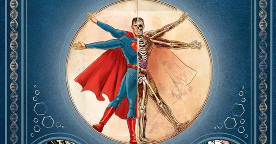 Livro revela a anatomia dos heróis e vilões da DC Comics