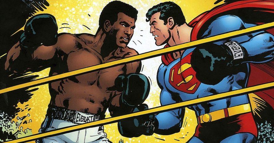 O dia em que o Superman enfrentou o boxeador Muhammad Ali