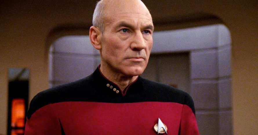 Patrick Stewart voltará a Star Trek como o capitão Picard