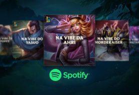 Spotify lança playlists temáticas dos personagens de League of Legends