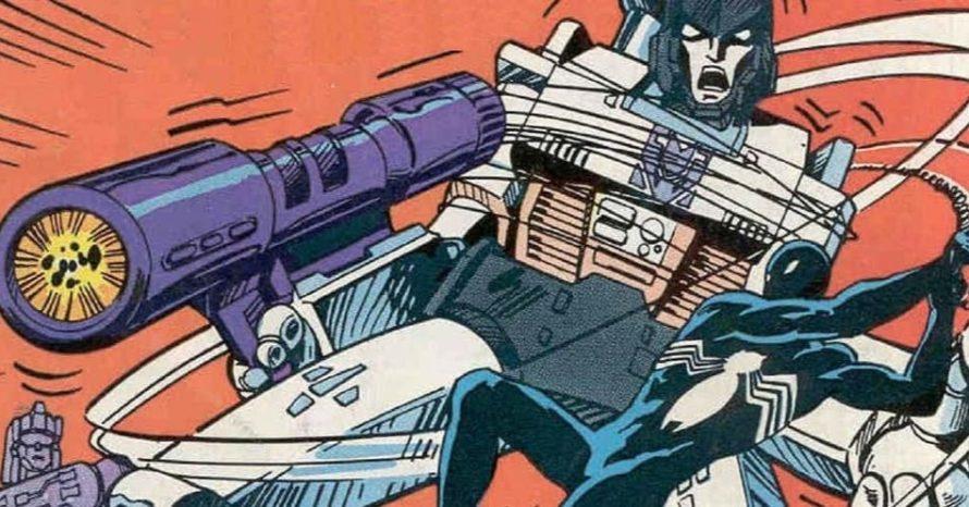 A vez em que o Homem-Aranha lutou ao lado dos Transformers nas HQs