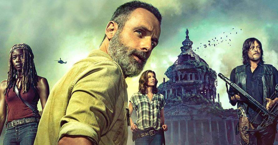 Quanto tempo se passou desde a 1ª temporada de The Walking Dead?