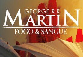 George R.R. Martin divulga capa brasileira do livro Fogo & Sangue; veja