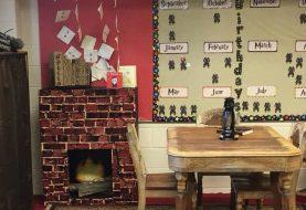 Professora se inspira em Harry Potter para decorar sala de aula