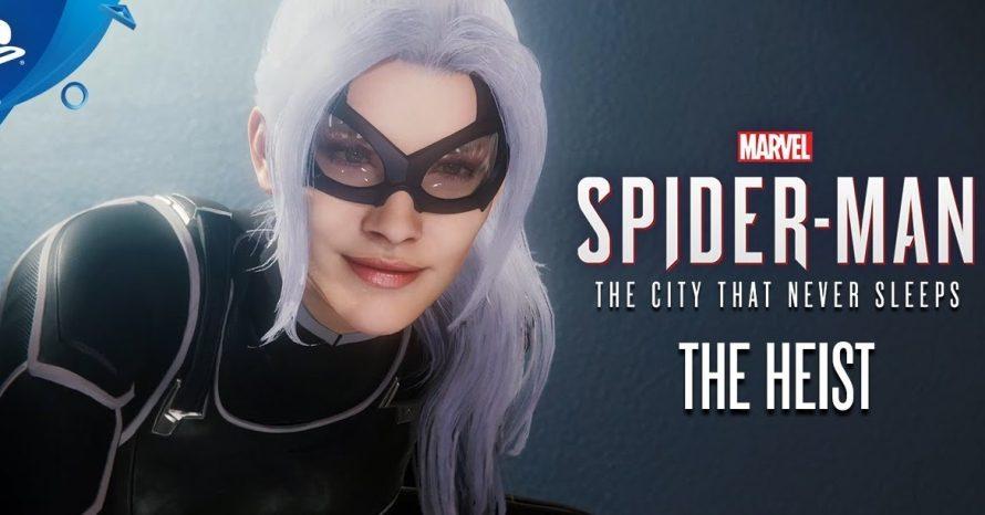 Novo trailer do game Spider-Man mostra a Gata Negra; assista