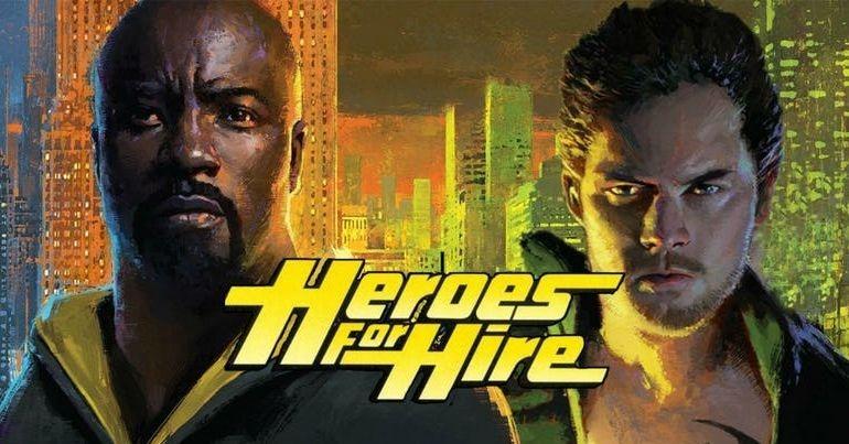 A Netflix cancelou Luke Cage e Punho de Ferro para criar os Heróis de Aluguel?