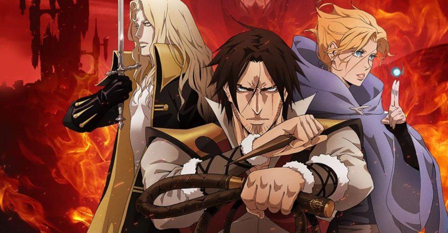 Estreia da 3ª Temporada do Castlevania Anime em 5 de março