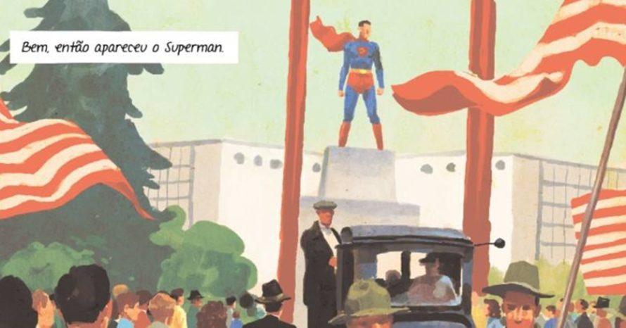 Nos 80 anos do Superman, HQ conta bastidores da criação do herói