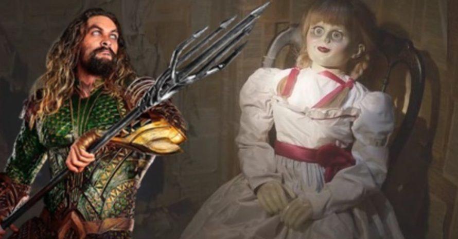 James Wan colocou boneca Annabelle como easter egg em Aquaman