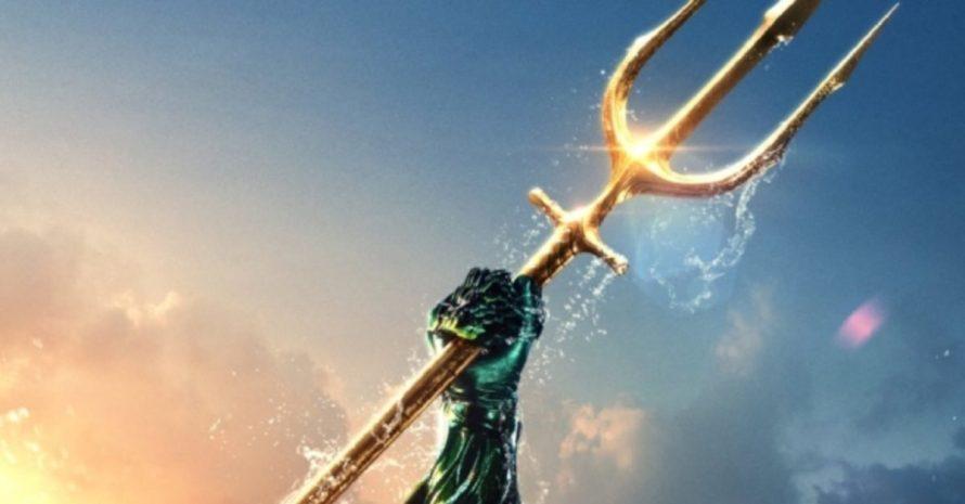 Quando o Aquaman usou um tridente pela primeira vez nas HQs?