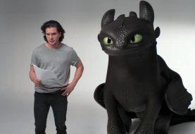 Como Treinar o Seu Dragão 3: Kit Harington faz 'teste' divertido com Banguela