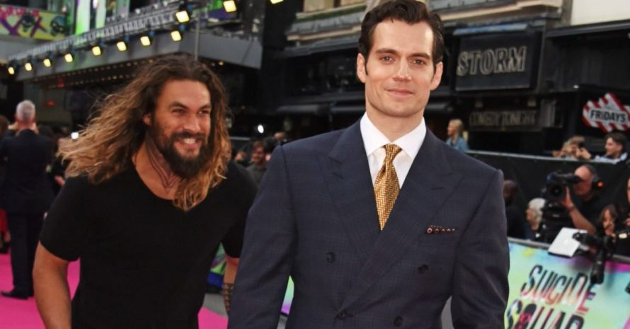 Henry Cavill não deixará de interpretar o Superman, diz Jason Momoa
