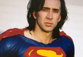 DC revela uniforme que seria usado por Nicolas Cage como Superman