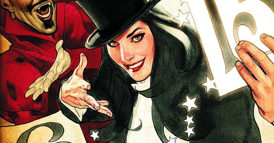 Filme solo da Zatanna está sendo desenvolvido pela DC