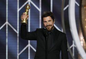 'Obrigado Satã', diz Christian Bale em discurso no Globo de Ouro