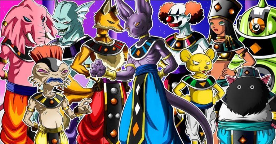 Os deuses da destruição desapareceram no anime de Dragon Ball Heroes