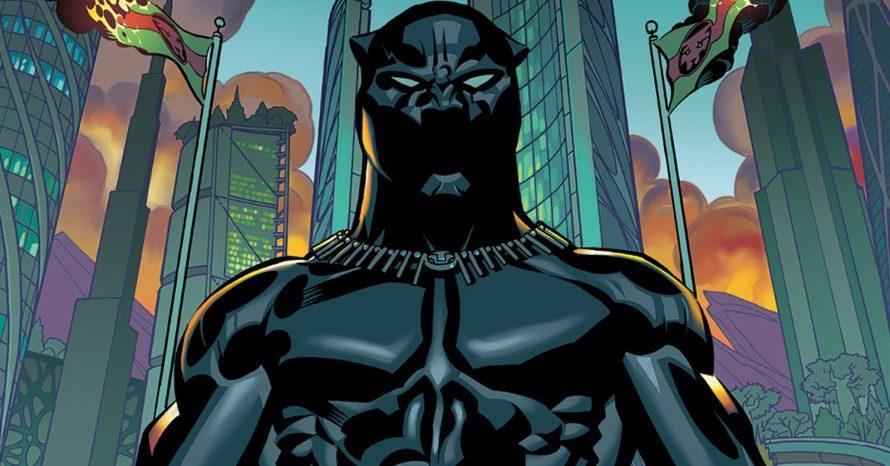 Marvel libera quadrinhos digitais gratuitos de Pantera Negra