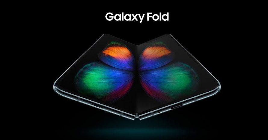 Samsung anuncia o Galaxy Fold, seu primeiro smartphone dobrável
