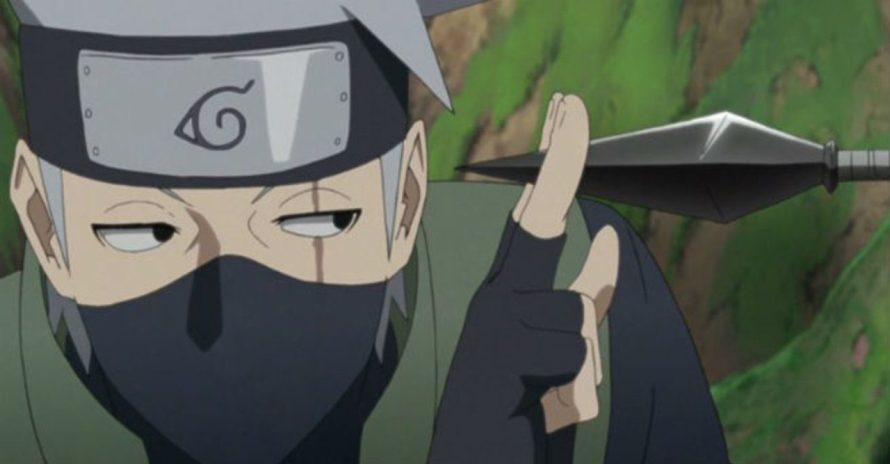 Boruto: Kakashi aparece ensinando o Relâmpago Roxo em imagem