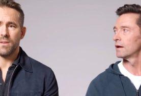 Ryan Reynolds e Hugh Jackman postam vídeo hilário 'fazendo as pazes'