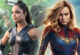 Brie Larson provoca fãs com projeto misterioso ao lado de Tessa Thompson