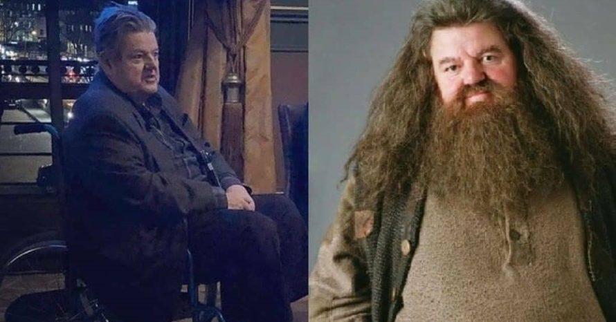 Ator de Harry Potter aparece em cadeira de rodas por conta de artrose
