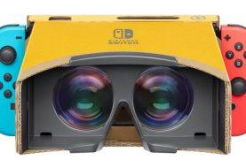 Nintendo lançará kit de realidade virtual de papelão para o Switch