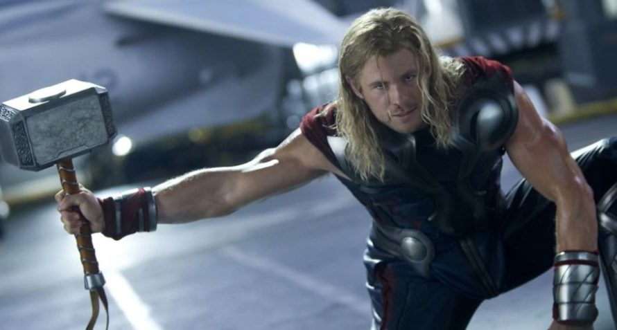 Quem já conseguiu levantar o Mjölnir, o martelo do Thor?