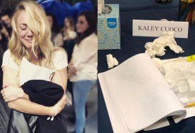 Kaley Cuoco chora ao ler último episódio de The Big Bang Theory