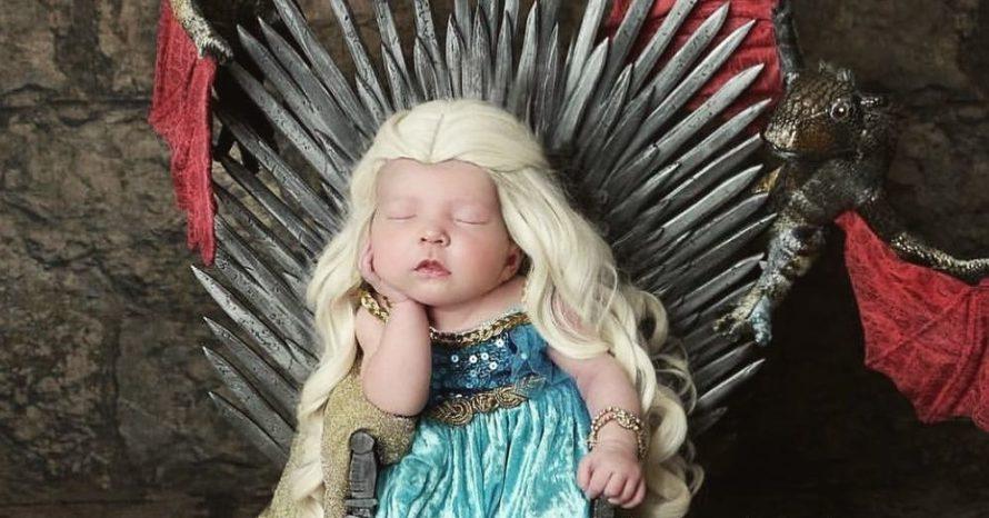 Esse ensaio de bebês como personagens de Game of Thrones é o que você precisa ver hoje