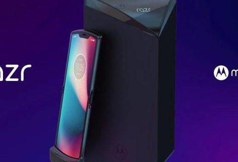 Vazam as primeiras imagens do novo celular dobrável da Motorola