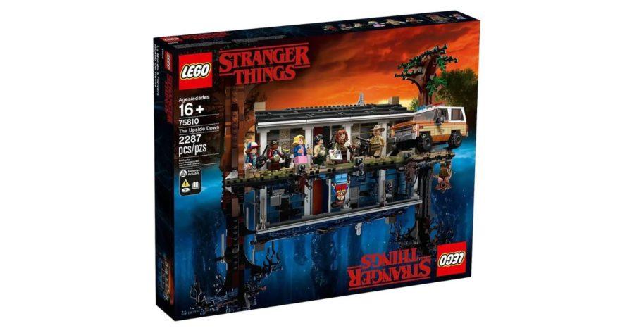 Stranger Things ganha versão Lego e materializa mundo invertido