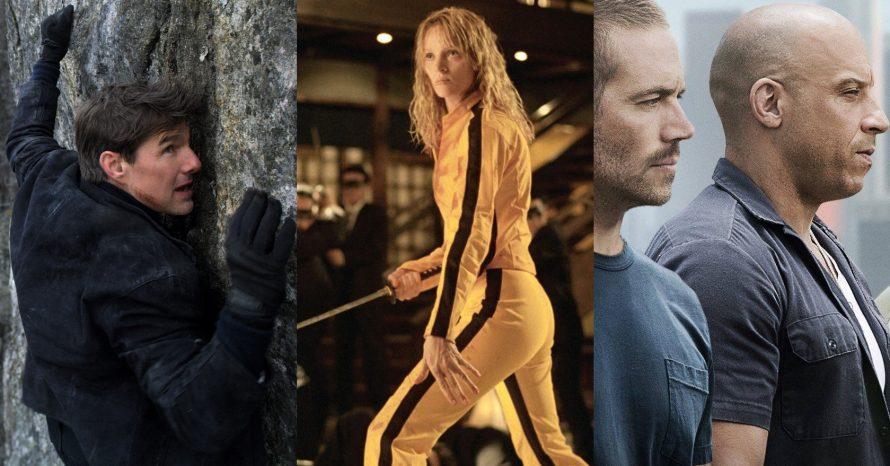 Infográfico traz análise sobre as cenas improváveis dos filmes de ação