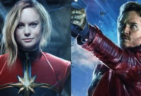 Teoria: Peter Quill já pode ter namorado a Capitã Marvel no passado