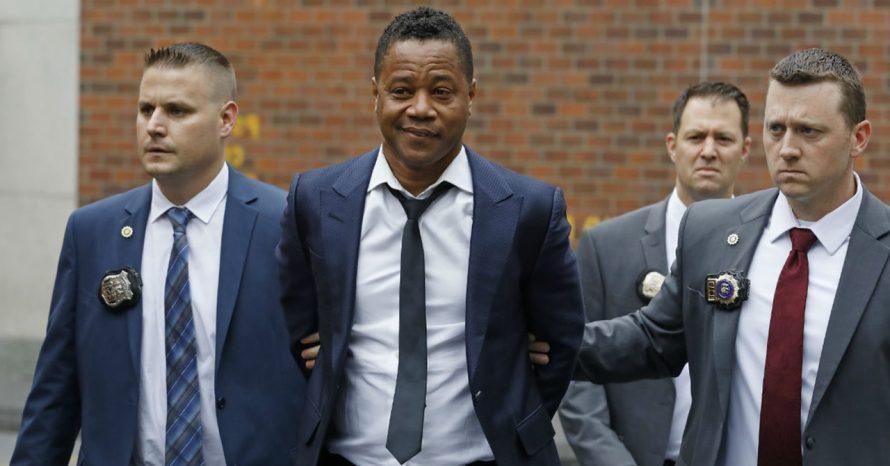 Cuba Gooding Jr. se entrega à polícia após acusação de assédio