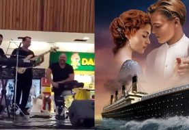 Banda toca música de Titanic enquanto shopping alaga no México; assista