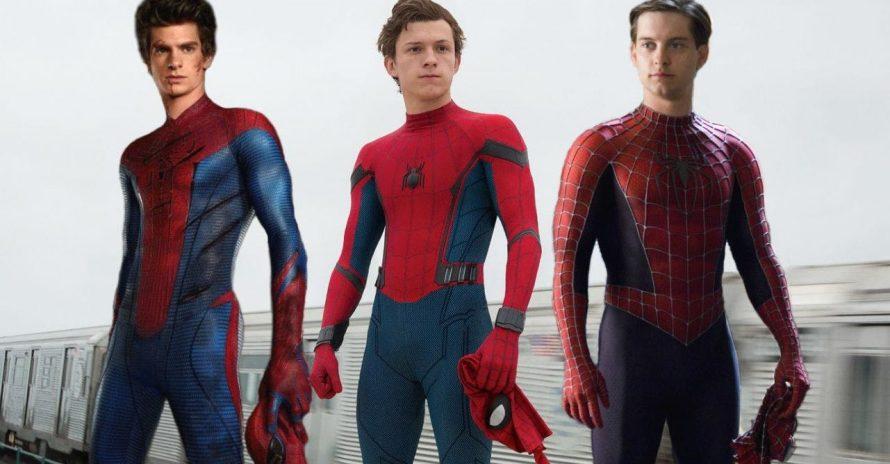 Homem-Aranha: produtora apoia filme com Tom Holland, Tobey Maguire e Andrew Garfield